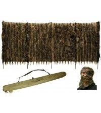 Засидка-скрадок переносной DUCK EXPERT ХИЩНИК болото + маска для лица