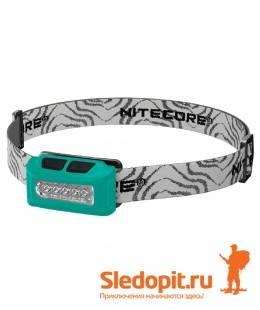 Налобный фонарь NiteCore NU10 LED 160 люмен c АКБ зарядка USB зеленый