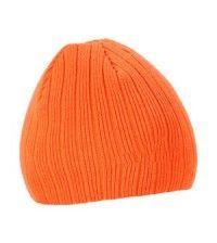 Шапка трикотажная NordKapp c флисом оранжевая