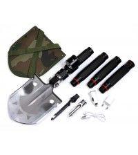 Многофункциональная лопата SWAT2 с фонарем