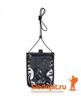 Гермокошелек влагозащитный нагрудный XL SPLAV черный 17х21см