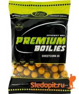 Бойлы Lorpio протеиновые 16мм вкус сладкая кукуруза упаковка 700г