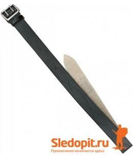 Ремень офицерский ХСН серия натуральная кожа ширина 50мм 130см черный