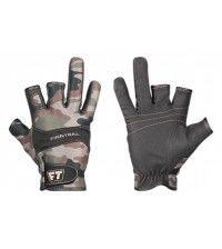Перчатки неопреновые для рыбалки и охоты Finntrail NEOSENSOR 2400 CAMOBEAR