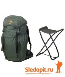 Рюкзак-стул JahtiJakt Hunter со складным стульчиком 45л