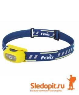 Налобный фонарь Fenix HL16 XP-E2 R3 70 люмен желтый