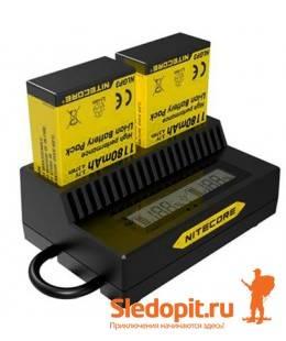 Автоматическое зарядное устройство Nitecore UGP3 для GoPro Hero 3