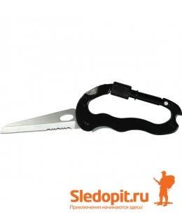 Инструмент туристический BUSH TRACK нож-карабин-отвертки-открывашка