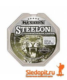 Леска Konger Steelon Fluocarbon Coated 30м 0.08мм-1.15кг