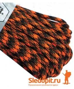 Паракорд 550 оранжево-черный