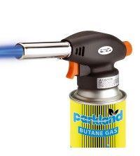 Резак газовый Gas Torch 2915 с защитой от затухания и пьезоподжигом