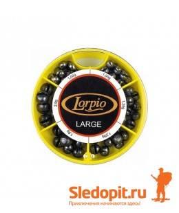 Набор грузил Lorpio 70г большие веса