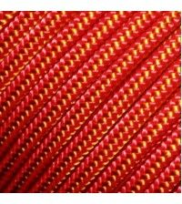 Репшнур TENDON 6мм оранжевый+жёлтый