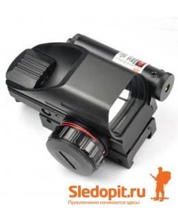 Коллиматор BOBLASER HDR33B Red&Green c ЛЦУ на Picatinny/Weaver выносная кнопка