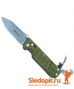 Нож Ganzo G735 Green лезвие 86мм