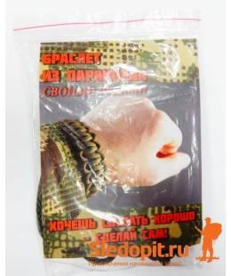 Набор для плетения браслета из паракорда ТУТПЛЕТУТ на 1 браслет