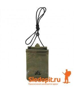 Гермокошелек влагозащитный нагрудный XL SPLAV олива 17х21см