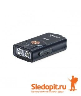 Фонарь-брелок Fenix E03R MATCH CA18 + EVERLIGHT 2835 260 люмен
