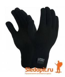 Водонепроницаемые перчатки DexShell TouchFit HY Gloves черные