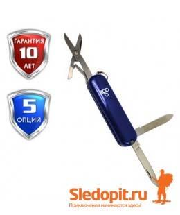Нож Ego A03 брелок синий