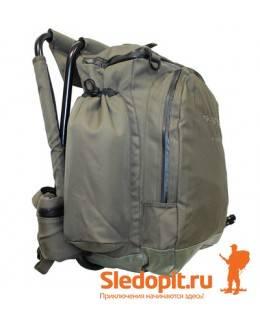 Рюкзак AVI-OUTDOOR Fiskare PRO brown с встроенным стульчиком 50л