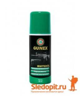 Масло оружейное Ballistol Gunex 2000 спрей 50мл