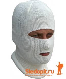 Лыжная шлем-маска ЦИКЛОП белая ХСН
