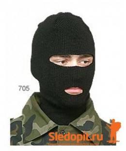 Лыжная шлем-маска ЦИКЛОП черная ХСН