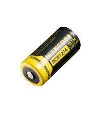 Аккумулятор NiteCore Li-Ion CR123A NL166 3.7V 650 mAh защишенный