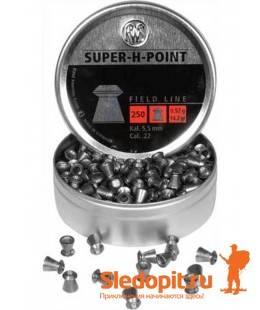Пульки пневматические RWS Super-H-Point 4.5мм 500шт 0.45г