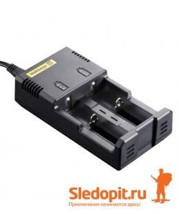 Автоматическое зарядное устройство Li-ion NiteCore V2 Intellicharge i2