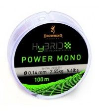 Леска Browning Hybrid Power Mono 100м 0.24мм-5.9кг