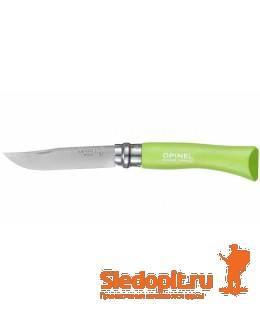 Нож складной Opinel Colored Tradition 7 нержавеющая сталь зеленый