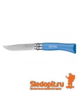 Нож складной Opinel Colored Tradition 7 нержавеющая сталь синий