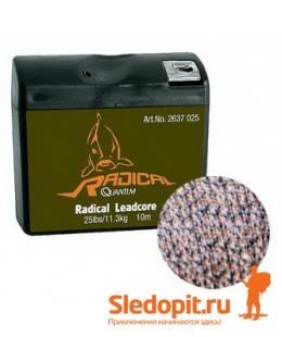 Поводочный материал лидкор Quantum Radical Leadcore 8m 20.4kg