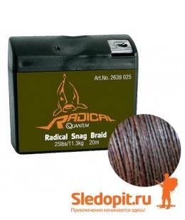 Поводочный материал Quantum Radical Snag Braid 20m 11.3kg