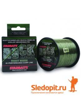 Леска Starbaits Rock Nylon Weedy Green 1450м 0.28мм-4.5кг