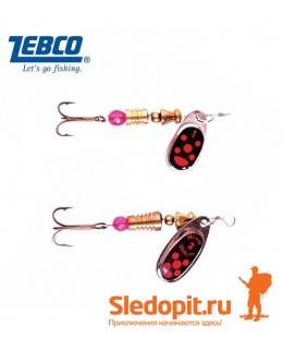 Набор блесен Zebco Spinner Assortment Black Killer
