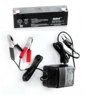 Электронный прибор для зарядки + АКБ к электронным манкам